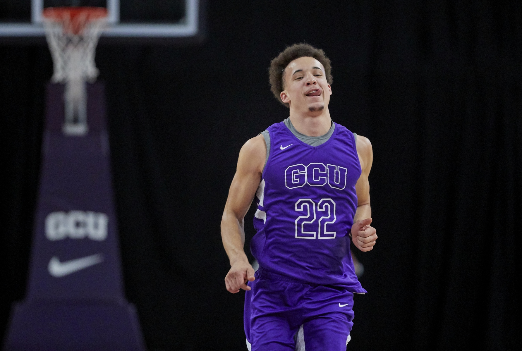 GCU freshman guard Jayden Stone is expected to have an immediate impact for the Lopes in 2020-21. Courtesy GCU Athletics