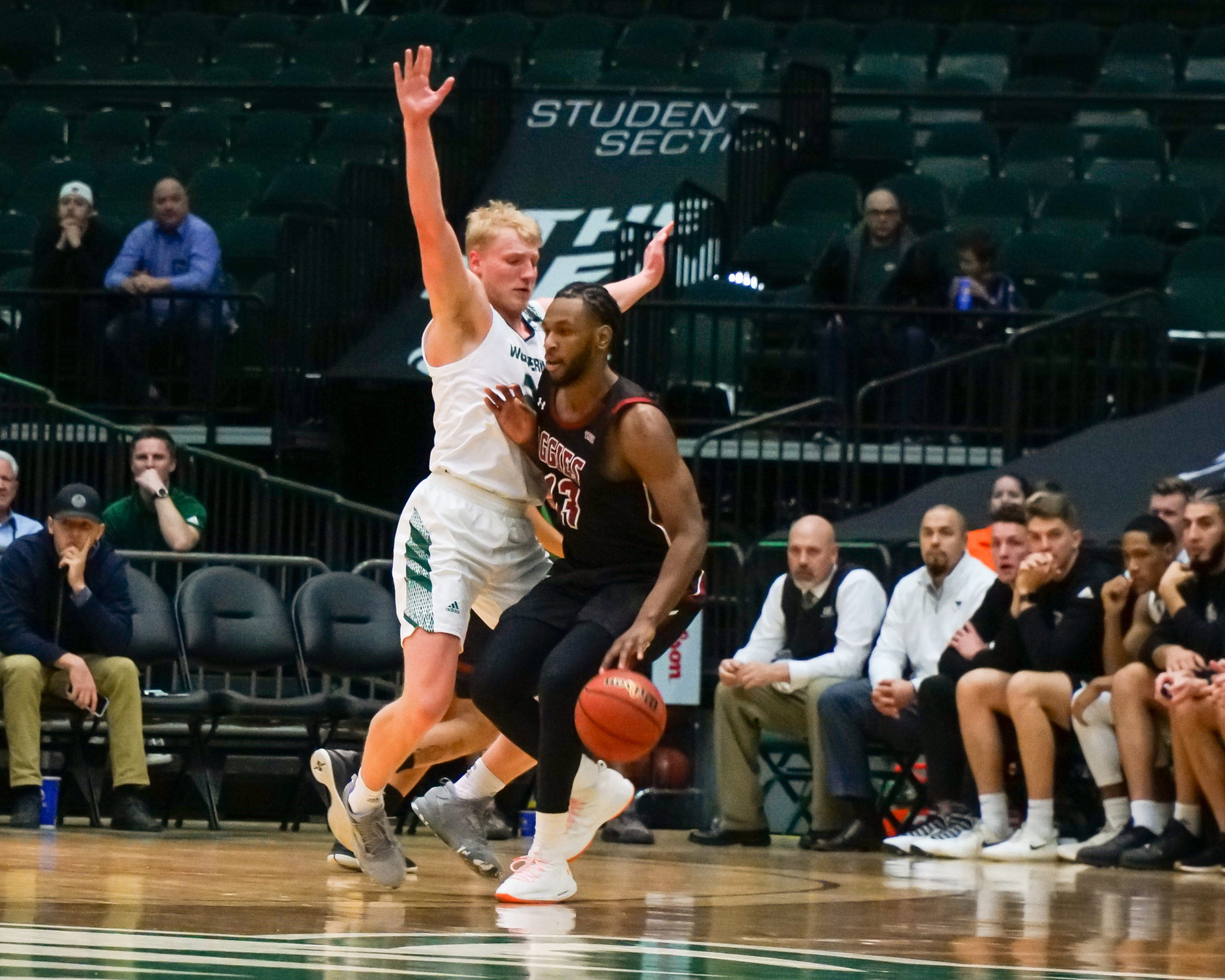 Road wins are hard to come by but three WAC teams won on the road on Thursday.